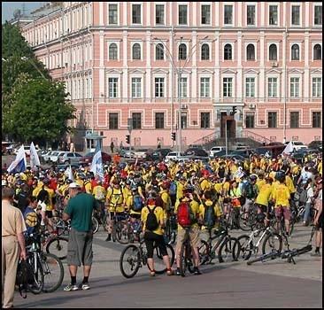Стартовал международный велопробег ветеранов