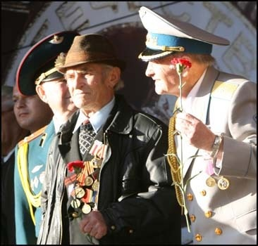 Украина празднует 65 лет Великой Победы