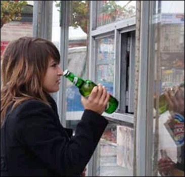 Подросткам разрешили покупать алкоголь?