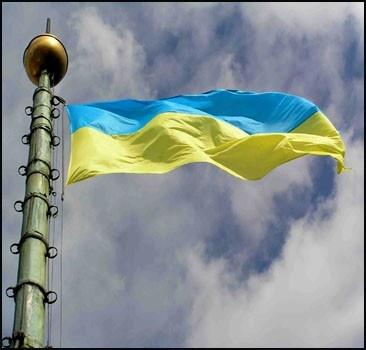С 22-метрового флагштока похитили флаг Украины