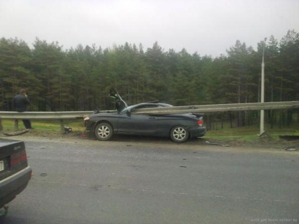 Невероятная автомобильная авария в Минске