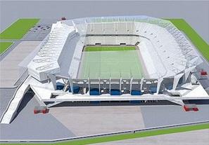Львов активно строит стадион к Евро-2012