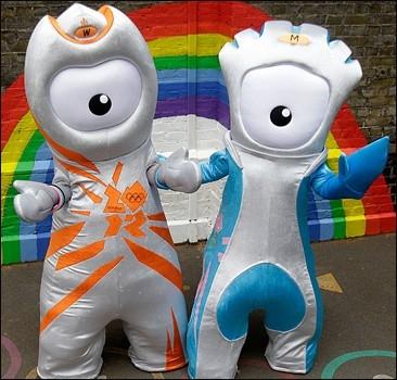 В Лондоне представлены символы Олимпиады-2012.