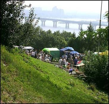 Днепровские склоны стали памятником