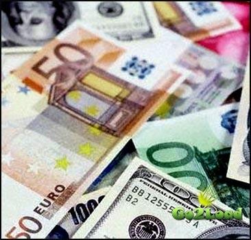 Евро в Украине продолжает лихорадить