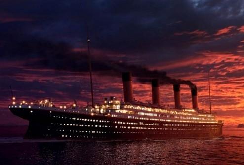 """Необычное меню - последний обед пассажиров """"Титаника"""""""