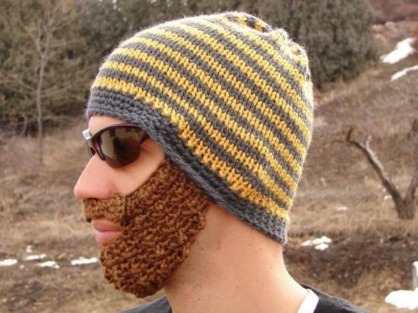 Шапки с бородой (7 фото) .