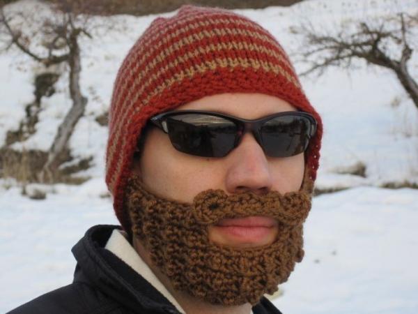 Шапка с бородой (30 фото)