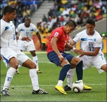 ЧМ-2010: Чили берет верх над Гондурасом