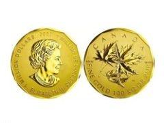 Самая большая золотая монета в мире уйдет с аукциона
