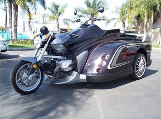 Супер мотоцикл для инвалидов (6 фото)