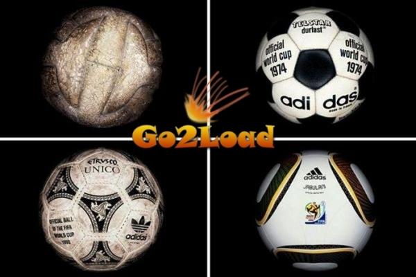 Футбольные мячи всех чемпионатов мира с 1930 г.