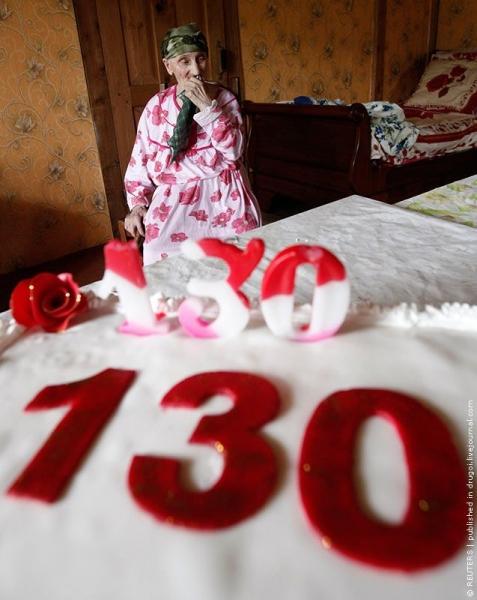 О долгожителях (2 фото) Антиса Хвичава