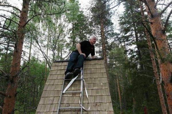 В Швеции открылся отель на дереве (14 фото)