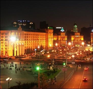 Бельгийцы придумали, как освещать киевский Майдан