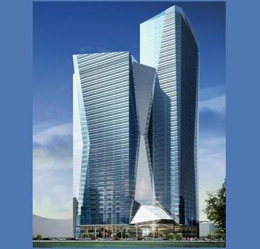 В Киеве построят микрорайон небоскребов.