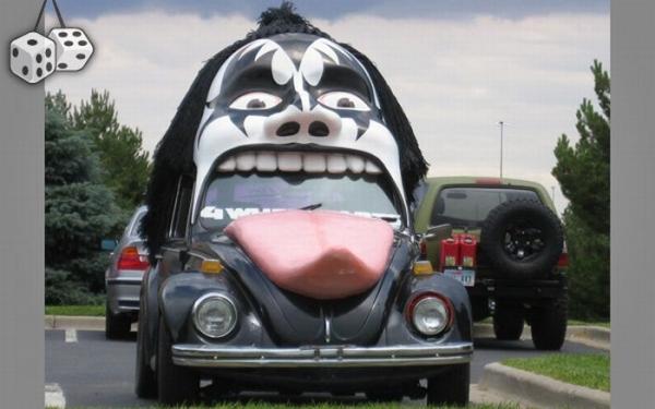 Необычные автомобили на дорогах (80 фото)