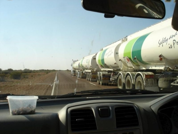 Нереально длинные автопоезда (13 фото)