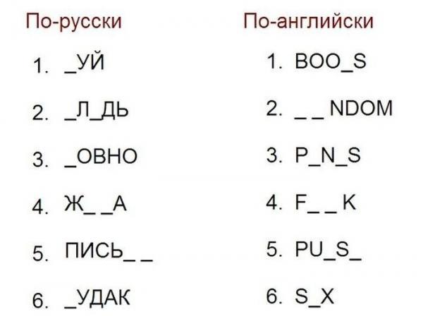 Проверь свой словарный запас (2 фото)