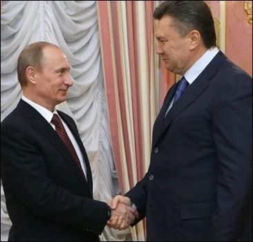 О чем Янукович и Путин неформально поговорили в Форосе?