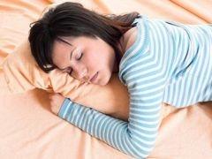 Полный желудок портит сон