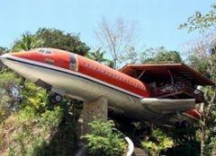 Отель-самолет: самый уникальный номер в мире