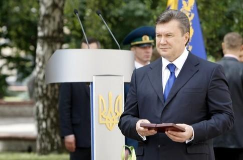 Янукович не поздравил Тернополь с Днем города