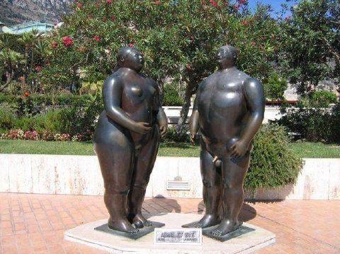 Самые редкие скульптуры в мире (23 фото)