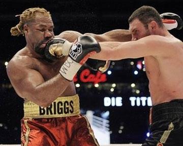 Бриггс хочет реванша с Кличко