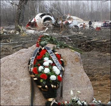 В Польше открыт памятник погибшим в катастрофе Ту-154