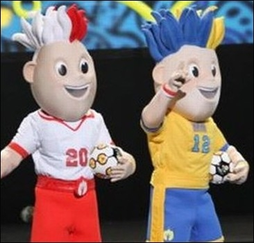 Евро-2012: талисманы обрели имена