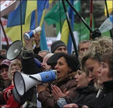 """""""Налоговый майдан"""" придет под стены Януковича"""