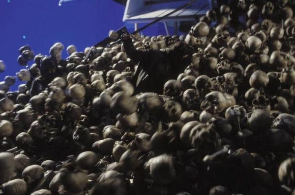 """На съемочной площадке фильма """"Властелин колец"""" (51 фото)"""
