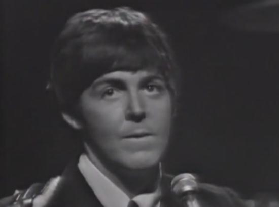 Paul McCartney - Yesterday (Live) (1965)