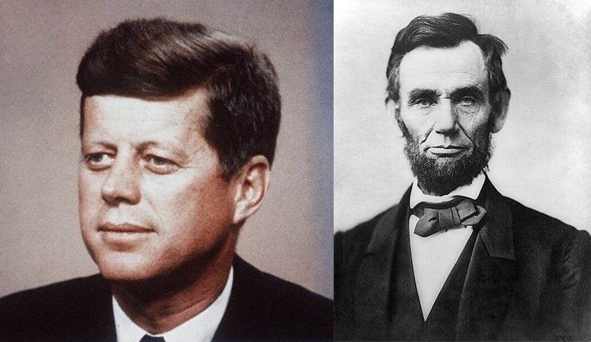 Роковая связь между Авраамом Линкольном и Джоном Кеннеди
