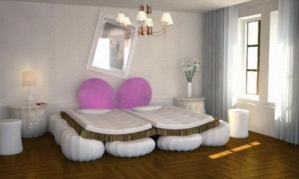 Кровать - индикатор чувств