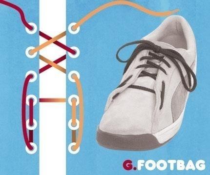 Способы шнуровки кроссовок