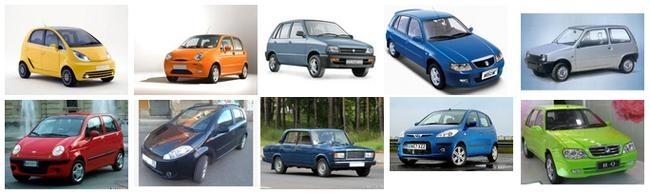 Самые дешевые автомобили в мире (с салона)