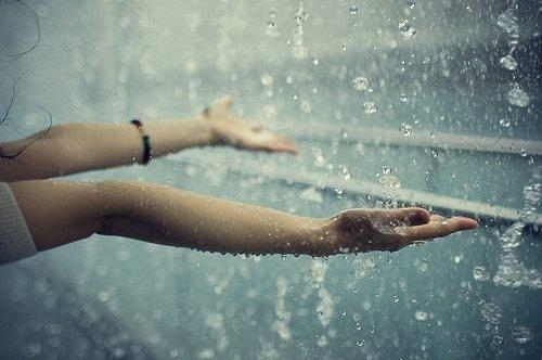 Часы по дождю