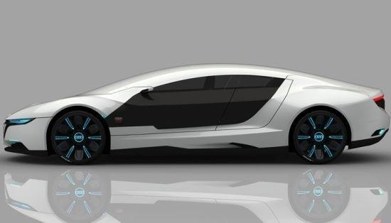 Концепт суперкара Audi A9