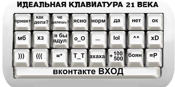 Идеальная клавиатура 21 века