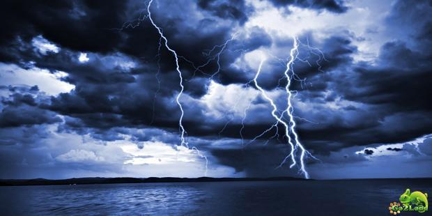 В какие места чаще всего ударяет молния?