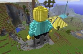LEGO выпустит конструктор по мотивам Minecraft