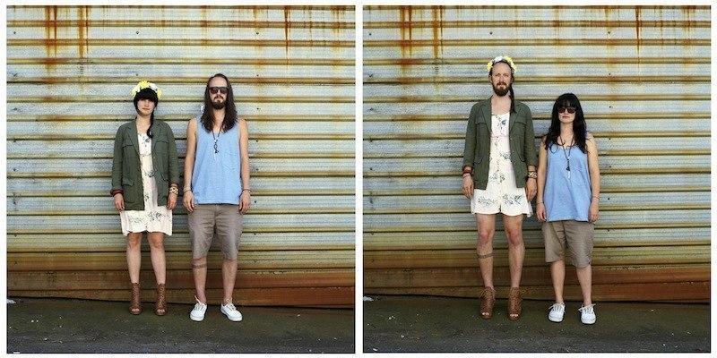 Как будете выглядеть вы, если поменяетесь одеждой
