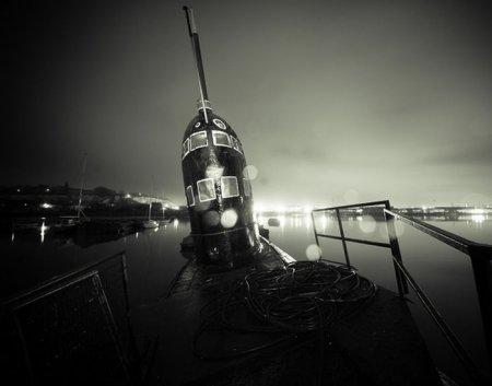 Покинутая подводная лодка