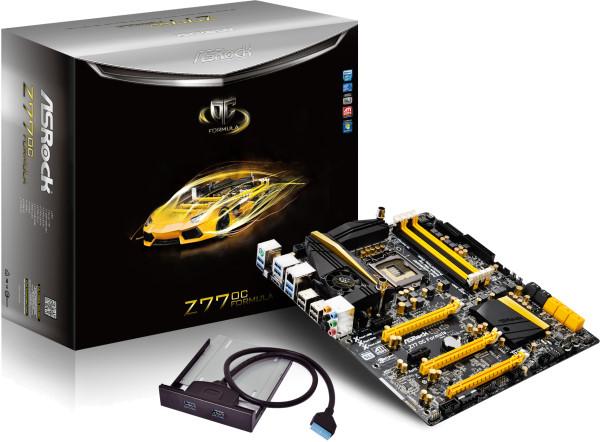 Установлен новый мировой рекорд разгона Intel Core i7 3770K на ASRock Z77 OC Formula
