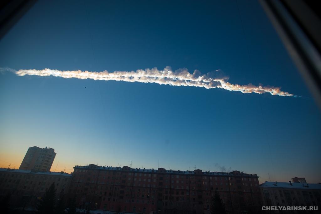 Метеоритный удар по Челябинску (фото и видео)