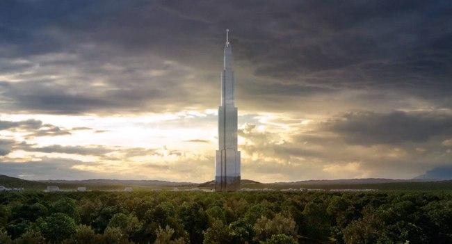 Началось строительство Sky City, здания высотой 838 метров