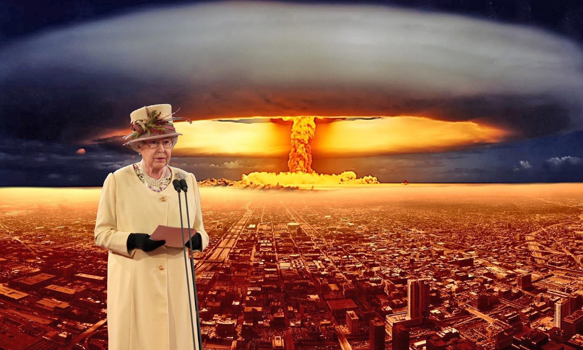 В Великобритании рассекретили речь королевы Елизаветы II к нации в случае ядерной войны