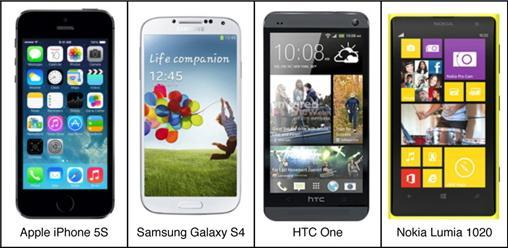 Сравниваем iPhone 5S с флагманами других производителей